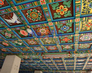 Techo del templo Bongeunsa