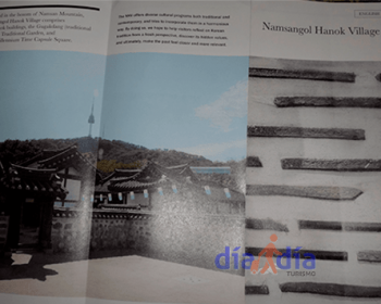 Folleto de Hanok Village