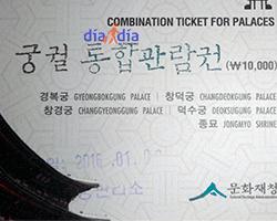 Ticket combinado a los palacios
