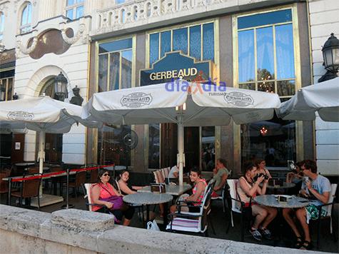 Gerbeaud, café notable de Budapest
