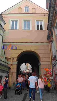 La puerta de Grodzka en Lublin, entrada al barri judío