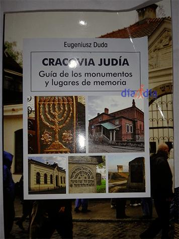 Guía de los monumentos y lugares de la Cracovia judía, en español