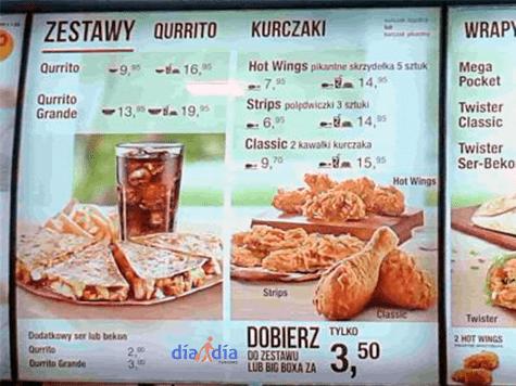 KFC en Polonia