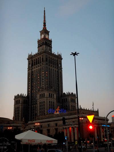 Palacio de la cultura de Polonia