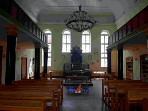 Sinagoga de Lublín al lado del hotel Ilán