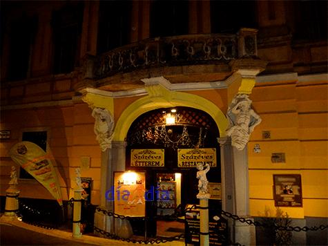 Szaseves, restaurante con gastronomía clásica Húngara